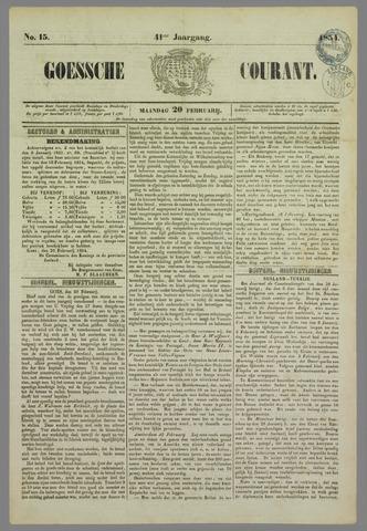 Goessche Courant 1854-02-20