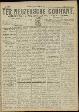 Ter Neuzensche Courant. Algemeen Nieuws- en Advertentieblad voor Zeeuwsch-Vlaanderen / Neuzensche Courant ... (idem) / (Algemeen) nieuws en advertentieblad voor Zeeuwsch-Vlaanderen 1915-02-16