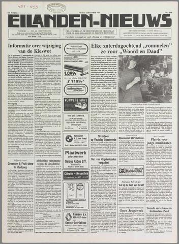 Eilanden-nieuws. Christelijk streekblad op gereformeerde grondslag 1989-12-01