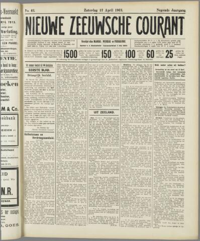 Nieuwe Zeeuwsche Courant 1913-04-12