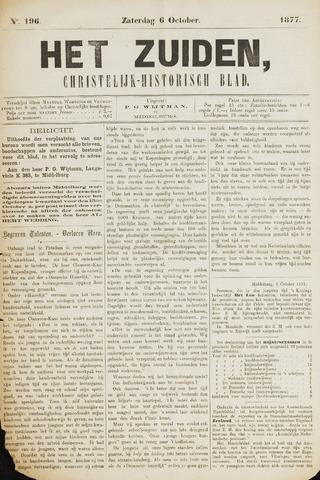 Het Zuiden, Christelijk-historisch blad 1877-10-06