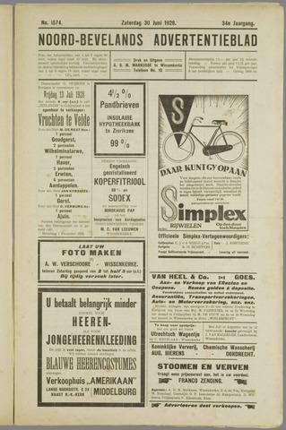 Noord-Bevelands Nieuws- en advertentieblad 1928-06-30