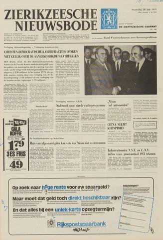 Zierikzeesche Nieuwsbode 1973-06-28