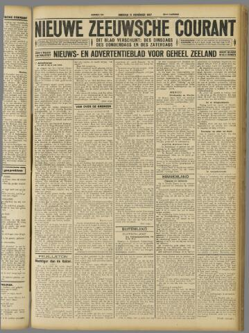 Nieuwe Zeeuwsche Courant 1927-11-15
