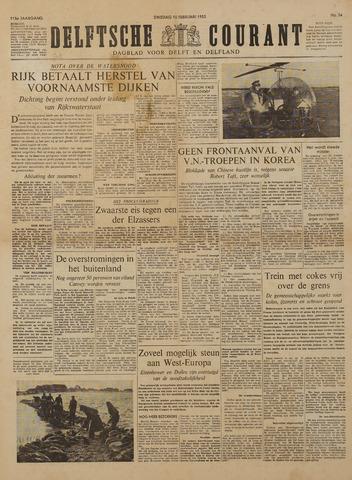 Watersnood documentatie 1953 - kranten 1953-02-10