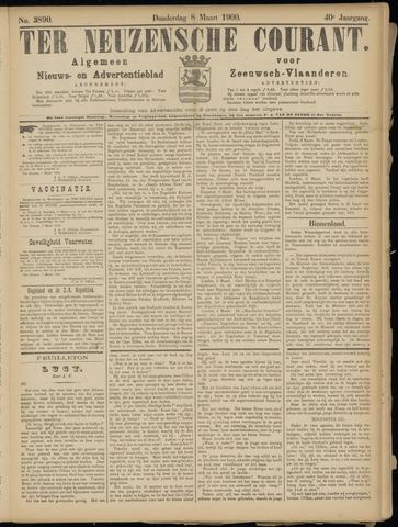 Ter Neuzensche Courant. Algemeen Nieuws- en Advertentieblad voor Zeeuwsch-Vlaanderen / Neuzensche Courant ... (idem) / (Algemeen) nieuws en advertentieblad voor Zeeuwsch-Vlaanderen 1900-03-08