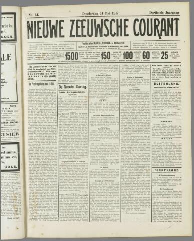 Nieuwe Zeeuwsche Courant 1917-05-24