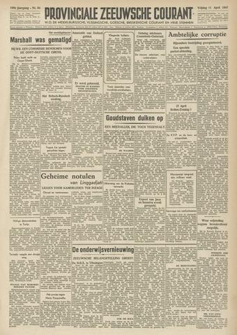 Provinciale Zeeuwse Courant 1947-04-11