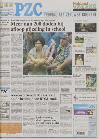Provinciale Zeeuwse Courant 2004-09-04