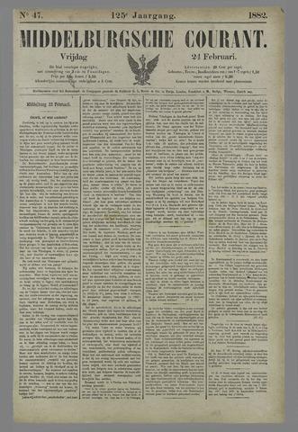 Middelburgsche Courant 1882-02-24