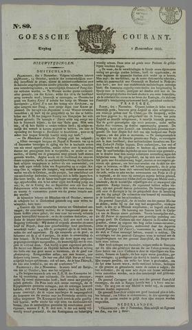 Goessche Courant 1833-11-08