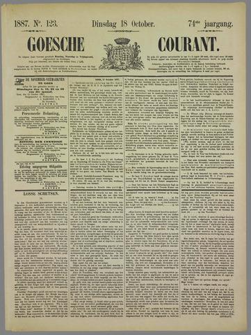 Goessche Courant 1887-10-18
