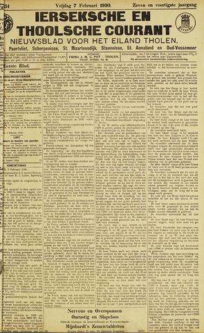 Ierseksche en Thoolsche Courant 1930-02-07