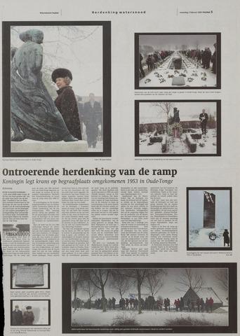 Watersnood documentatie 1953 - kranten 2003-02-03
