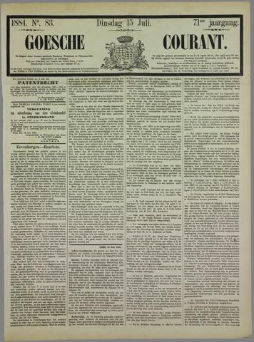 Goessche Courant 1884-07-15