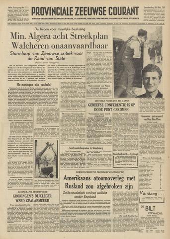 Provinciale Zeeuwse Courant 1954-05-20