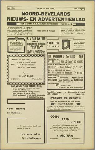 Noord-Bevelands Nieuws- en advertentieblad 1937-04-03