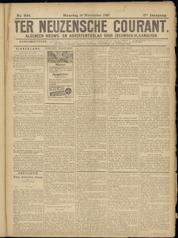 Ter Neuzensche Courant. Algemeen Nieuws- en Advertentieblad voor Zeeuwsch-Vlaanderen / Neuzensche Courant ... (idem) / (Algemeen) nieuws en advertentieblad voor Zeeuwsch-Vlaanderen 1927-11-14