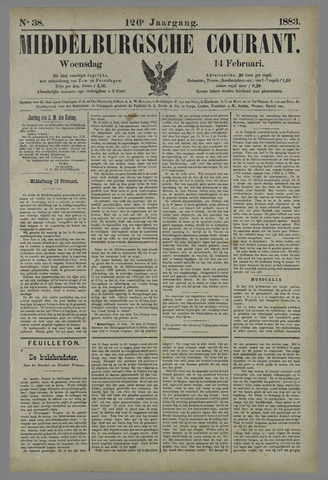 Middelburgsche Courant 1883-02-14