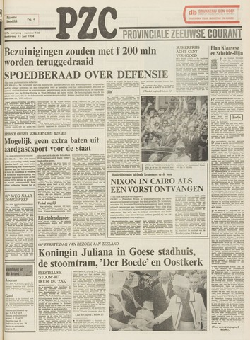 Provinciale Zeeuwse Courant 1974-06-13