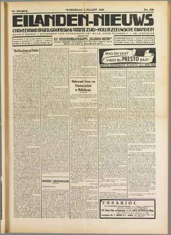 Eilanden-nieuws. Christelijk streekblad op gereformeerde grondslag 1939-03-08