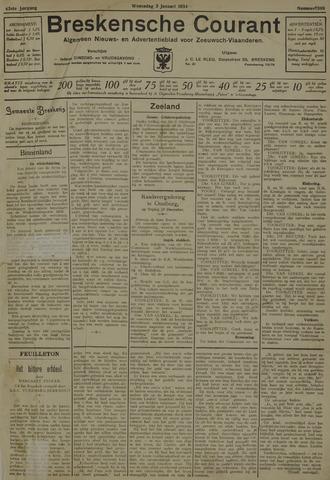 Breskensche Courant 1934