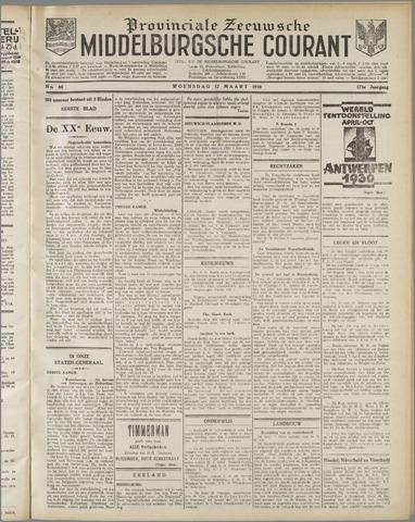 Middelburgsche Courant 1930-03-12
