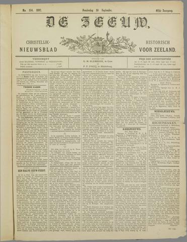 De Zeeuw. Christelijk-historisch nieuwsblad voor Zeeland 1897-09-30