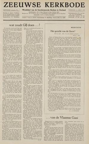 Zeeuwsche kerkbode, weekblad gewijd aan de belangen der gereformeerde kerken/ Zeeuwsch kerkblad 1959-07-03