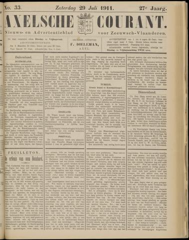 Axelsche Courant 1911-07-29
