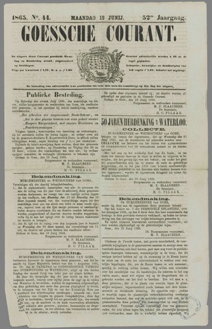 Goessche Courant 1865-06-12