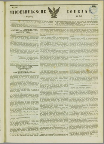 Middelburgsche Courant 1847-05-11