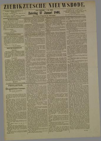 Zierikzeesche Nieuwsbode 1891-01-17