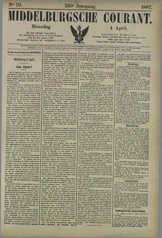 Middelburgsche Courant 1887-04-04