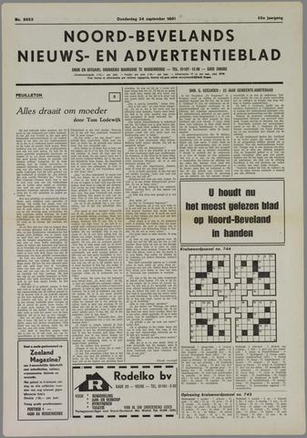 Noord-Bevelands Nieuws- en advertentieblad 1981-09-24