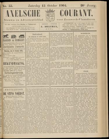 Axelsche Courant 1904-10-15