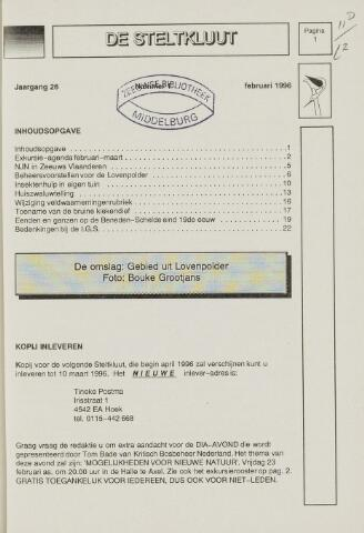 de Steltkluut 1996-02-01