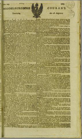 Middelburgsche Courant 1817-08-28