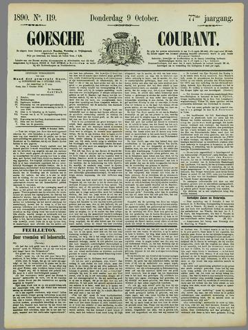 Goessche Courant 1890-10-09