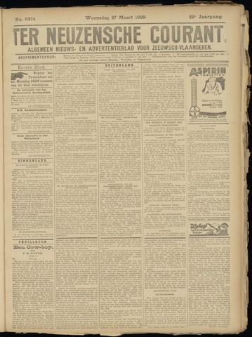 Ter Neuzensche Courant. Algemeen Nieuws- en Advertentieblad voor Zeeuwsch-Vlaanderen / Neuzensche Courant ... (idem) / (Algemeen) nieuws en advertentieblad voor Zeeuwsch-Vlaanderen 1929-03-27