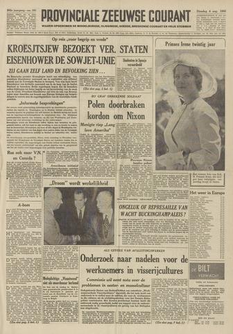Provinciale Zeeuwse Courant 1959-08-04