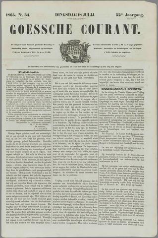 Goessche Courant 1865-07-18