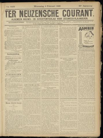 Ter Neuzensche Courant. Algemeen Nieuws- en Advertentieblad voor Zeeuwsch-Vlaanderen / Neuzensche Courant ... (idem) / (Algemeen) nieuws en advertentieblad voor Zeeuwsch-Vlaanderen 1929-02-06