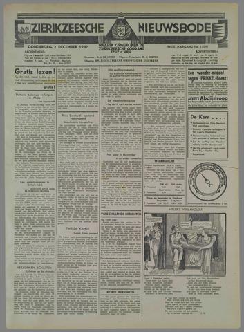 Zierikzeesche Nieuwsbode 1937-12-02