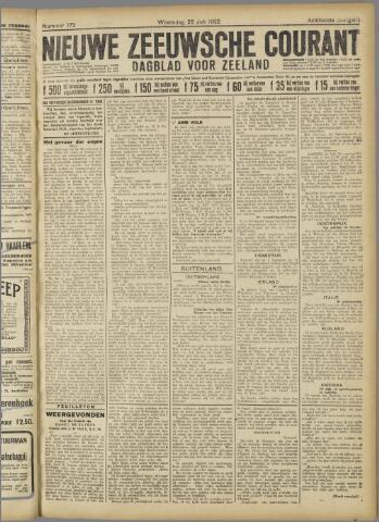 Nieuwe Zeeuwsche Courant 1922-07-26