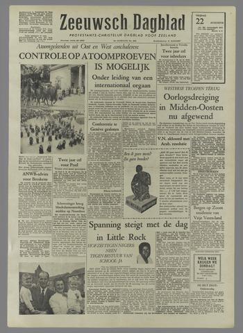 Zeeuwsch Dagblad 1958-08-22