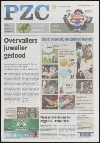 Provinciale Zeeuwse Courant 2014-03-29