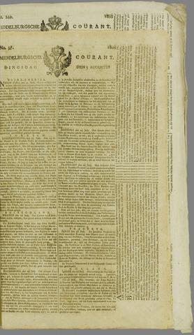 Middelburgsche Courant 1806-08-05