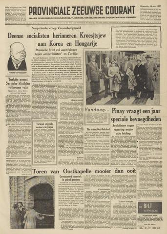 Provinciale Zeeuwse Courant 1957-10-16