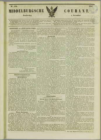 Middelburgsche Courant 1847-11-04